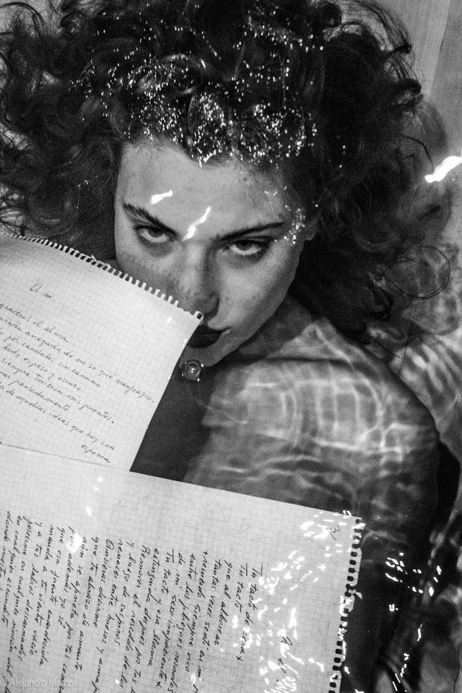 A piece of fine art art photography titled Ephimera Vi by Alejandro Marcos