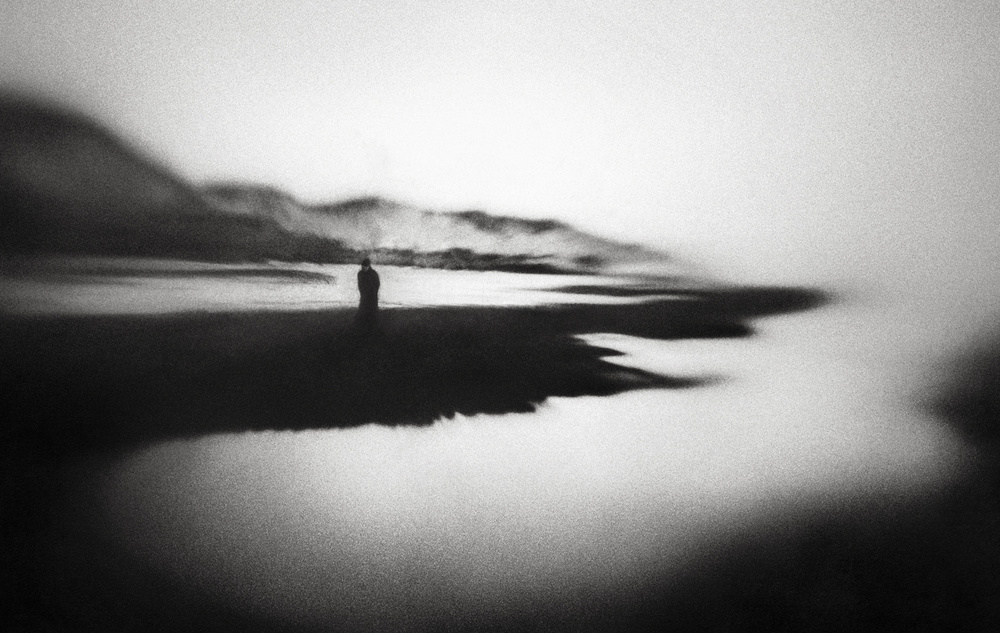 A piece of fine art art photography titled Cold West Coast by Marianne Siff Kusk