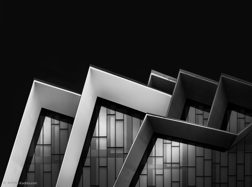 View this piece of fine art photography titled Zigzag Roof by Erhard Batzdorf