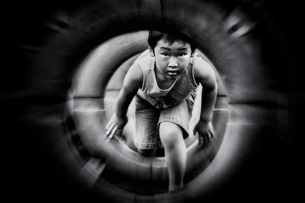A piece of fine art art photography titled Maze Runner by Despird Zhang