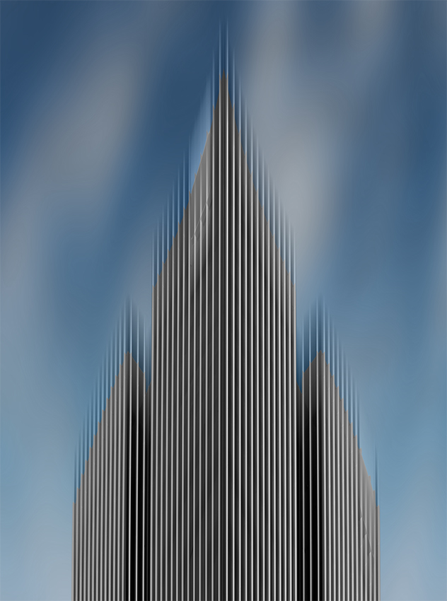 A piece of fine art art photography titled High Rise by Hayk Shalunts