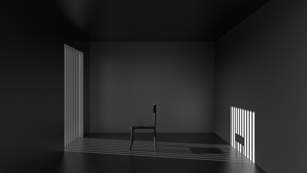 A piece of fine art art photography titled Emptyness of Jail by Antonyus Bunjamin (Abe)