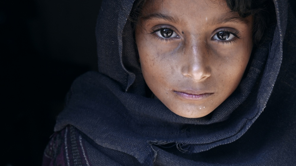 A piece of fine art art photography titled Natayah - a Girl from Nepal by Mohammed Baqer