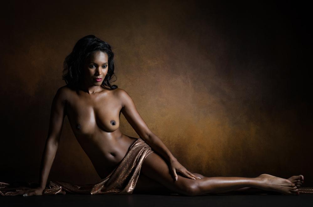 A piece of fine art art photography titled Aphrodite Melaina by Luc Stalmans