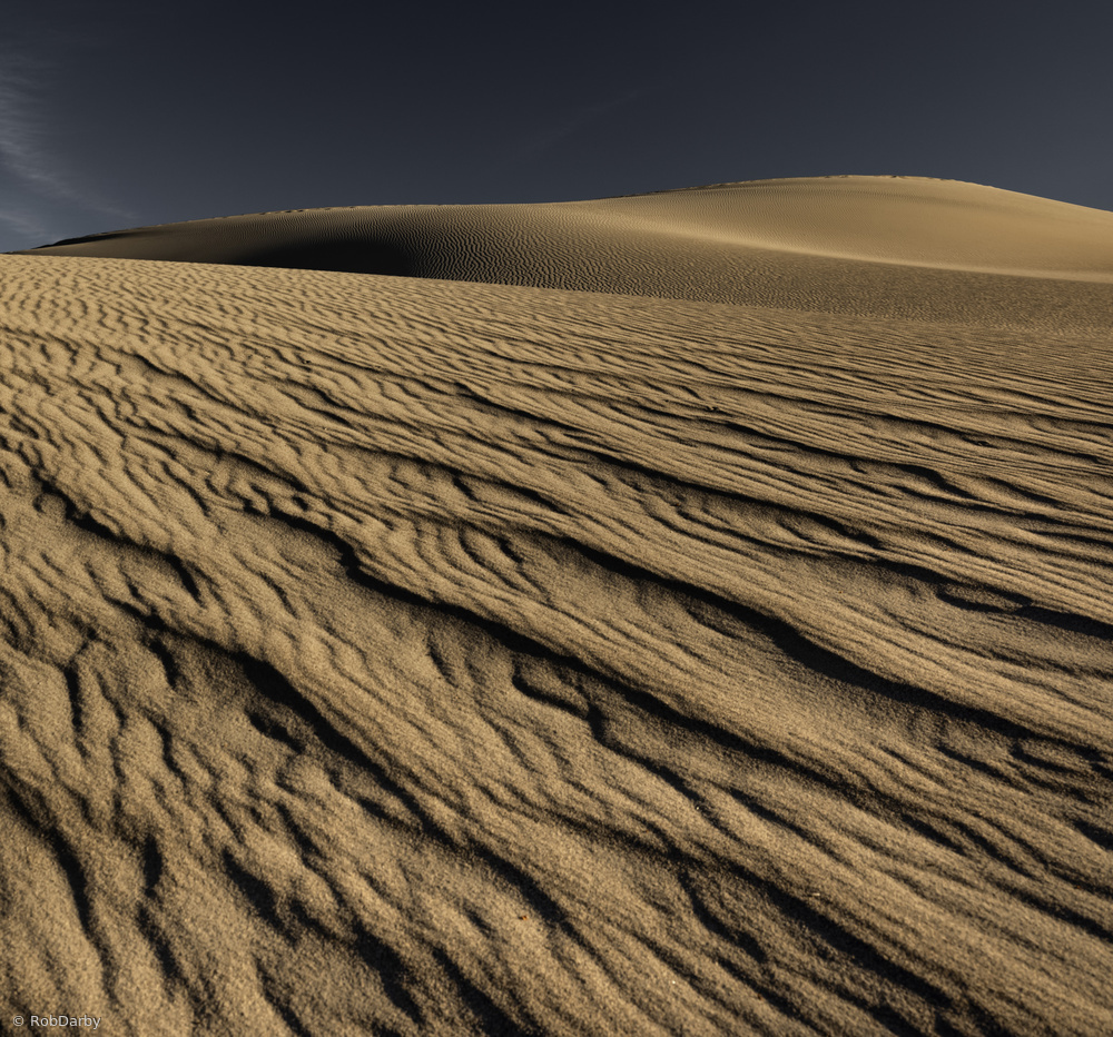Rivulets of Sand