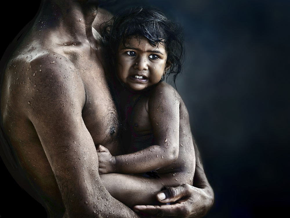 A piece of fine art art photography titled Warmth by Piet Flour