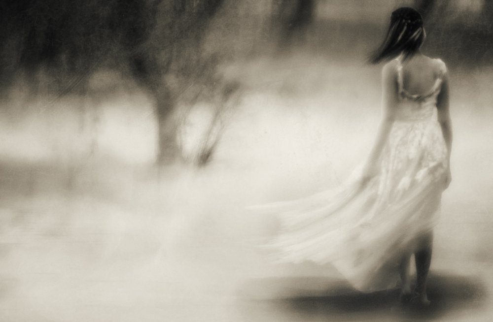 A piece of fine art art photography titled You See All I Need's a Whisper In a World That Only Shouts by Charlaine Gerber