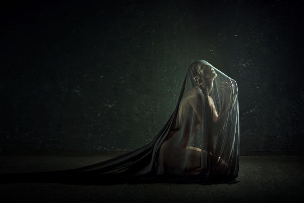 A piece of fine art art photography titled  Sacrament by Angelina Goncharova