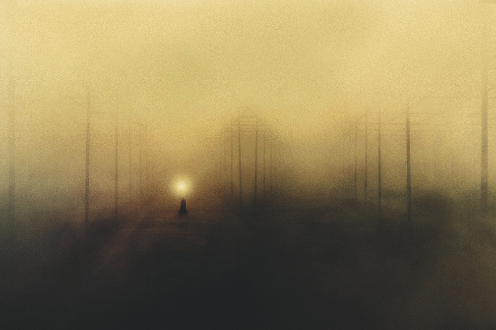 View this piece of fine art photography titled The Last Way by Radin Badrnia