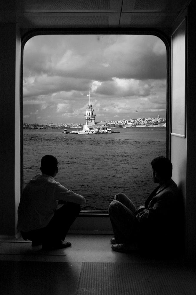 A piece of fine art art photography titled Kız Kulesi by ahmet orhan
