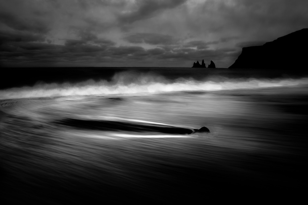 A piece of fine art art photography titled Vik, Impressions of a Harsh and Beautiful Nature by Alessandro Traverso
