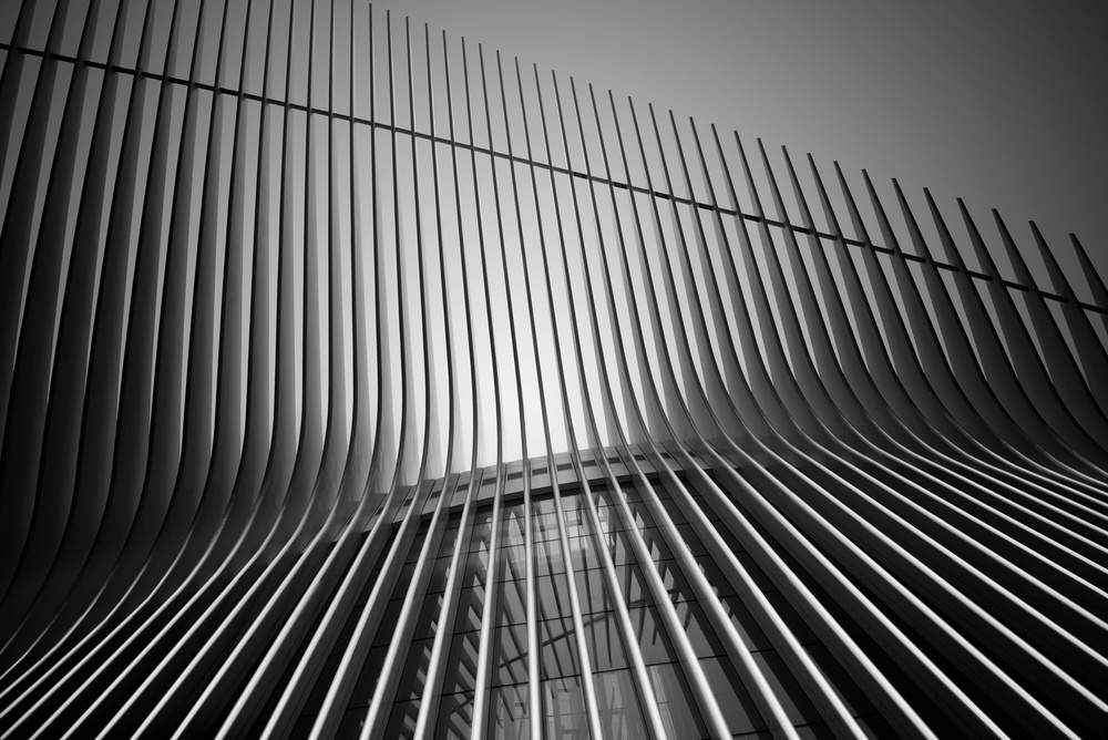 A piece of fine art art photography titled Calatrava's Lines by Louis-Philippe Provost