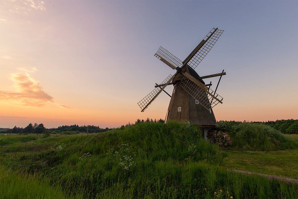 A piece of fine art art photography titled The Old Mill by Leif Løndal