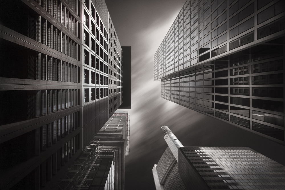 A piece of fine art art photography titled Beam Me Up by Andreas Paehge