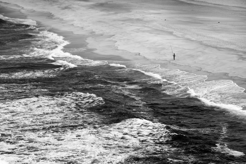 A piece of fine art art photography titled Nazaré by Emanuel Barcelos