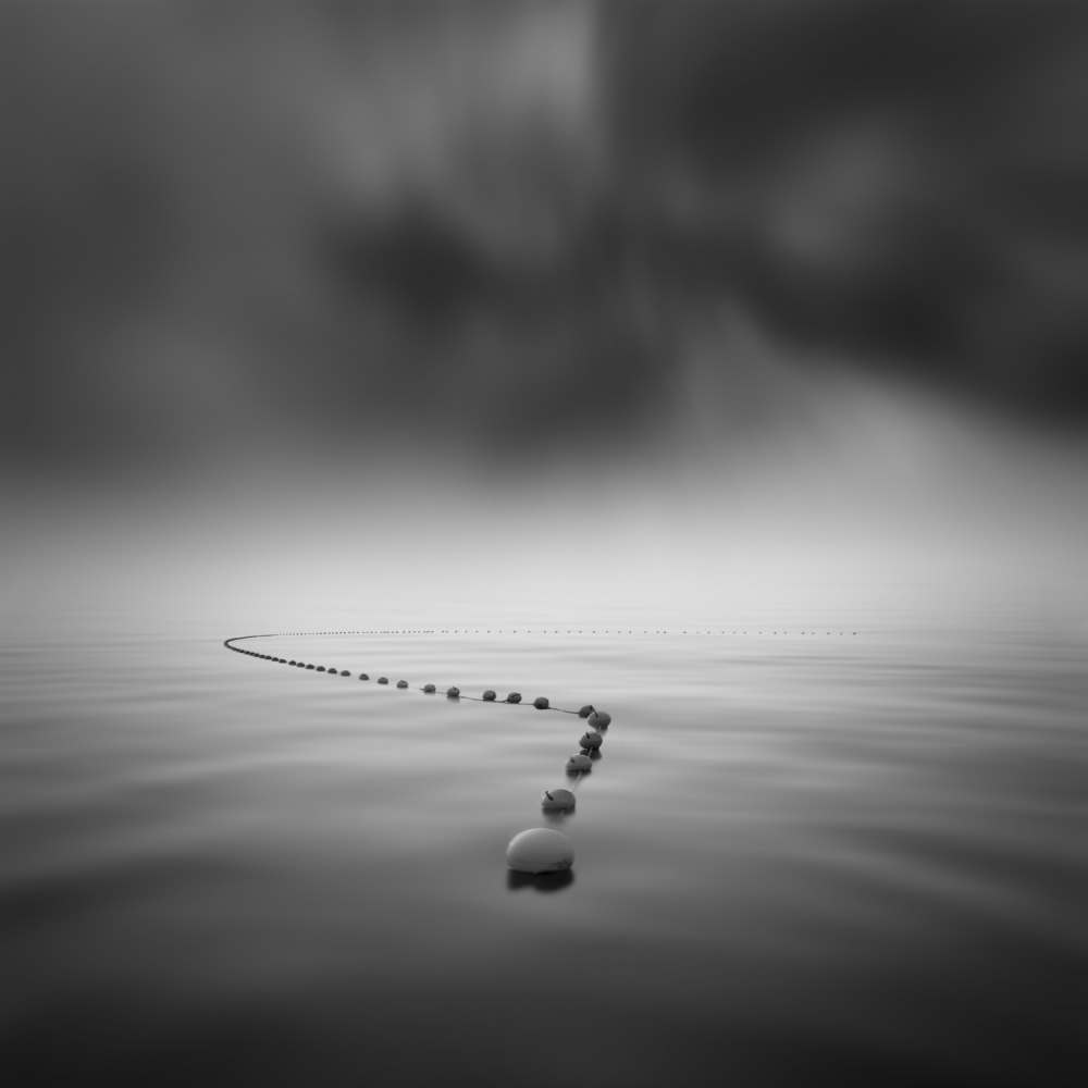A piece of fine art art photography titled A Long Way by ruben redondo