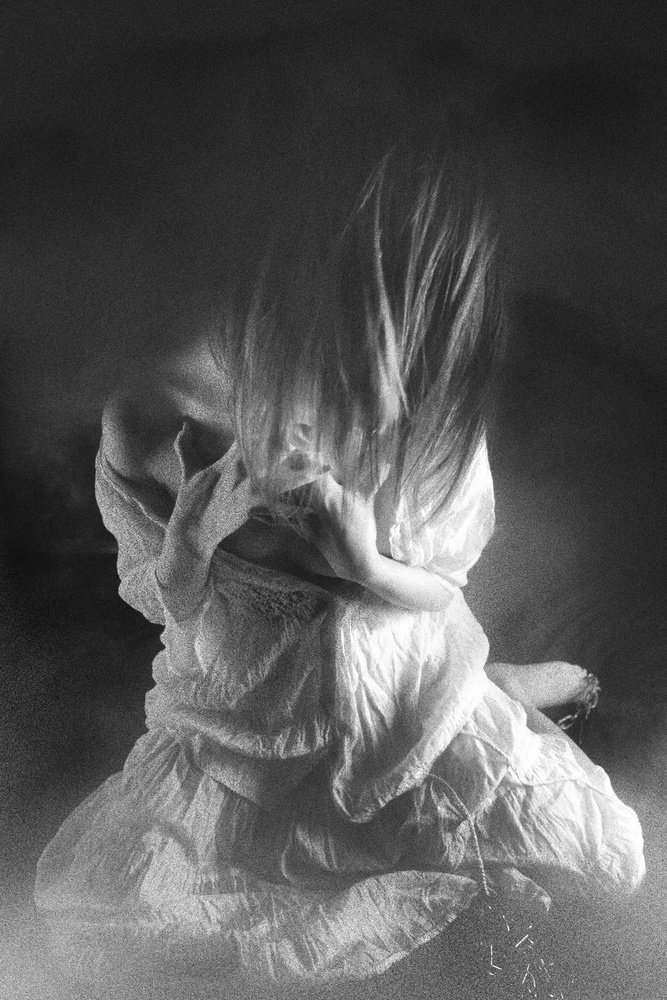A piece of fine art art photography titled Endless Cry by Eddie Wetton