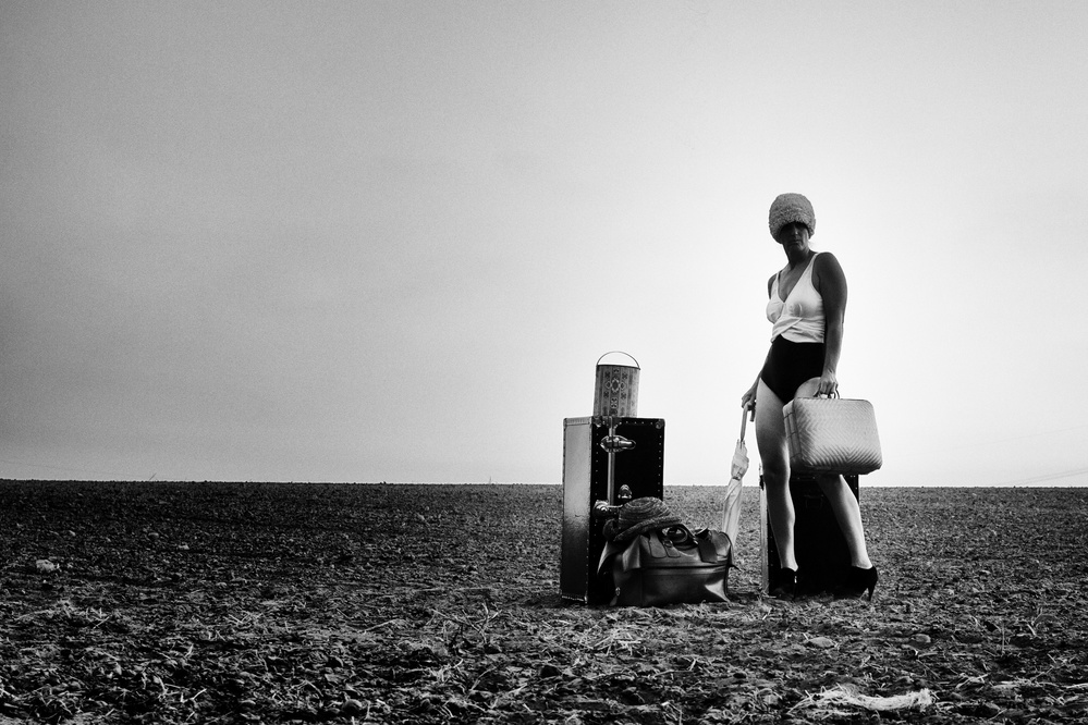 A piece of fine art art photography titled I Wanted to Travel So Much With You by Katja Gehrung