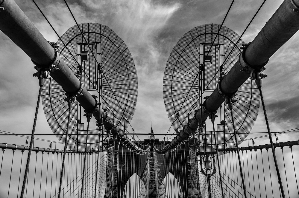 View this piece of fine art photography titled Brooklyn Bridge by Marzena Wieczorek