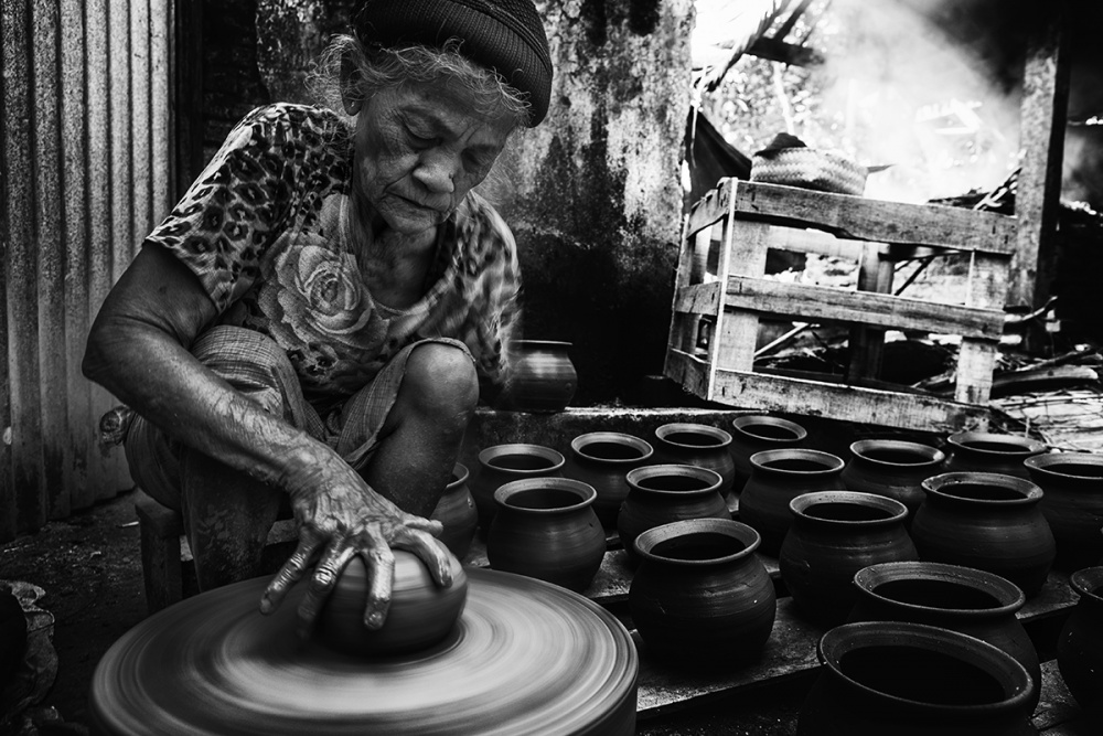 A piece of fine art art photography titled Living Old by Ismail raja sulbar