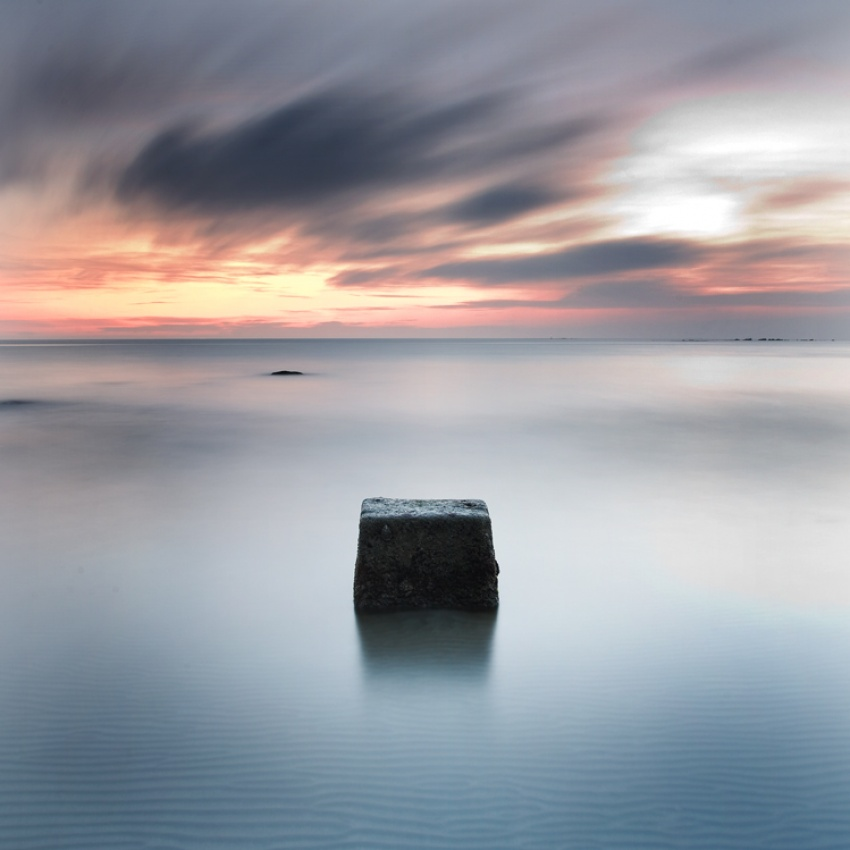 A piece of fine art art photography titled Minimal II by Darko Pavlovic