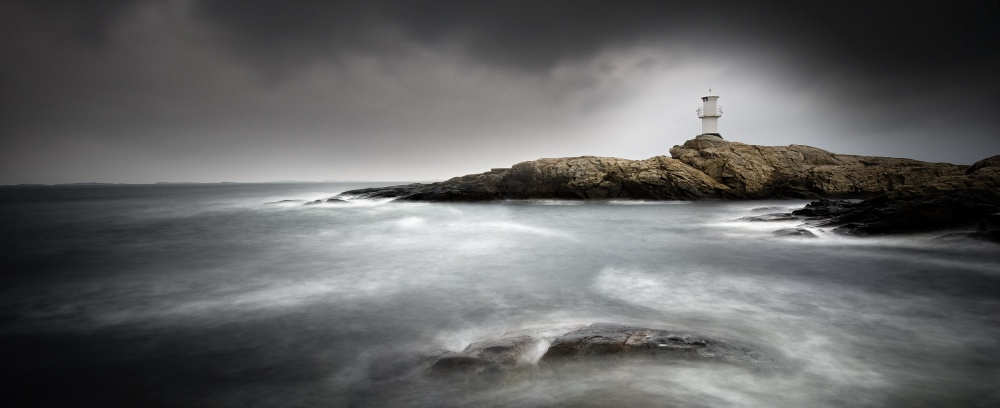 A piece of fine art art photography titled Lighthouse by Claes Thorberntsson