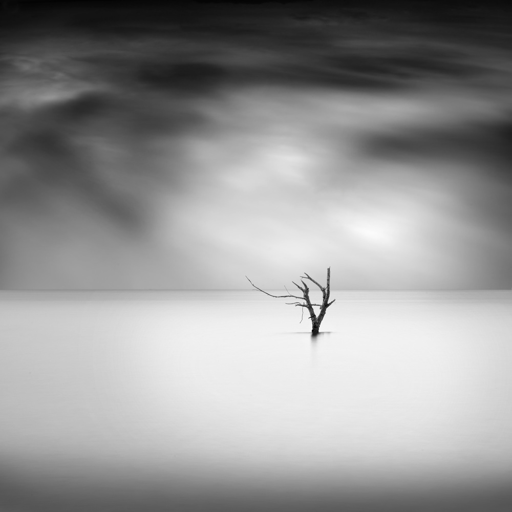 A piece of fine art art photography titled Feel the Silence by George Digalakis