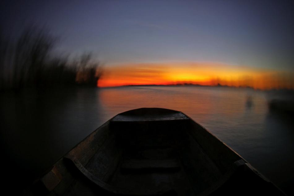 A piece of fine art art photography titled Boat by arpad ikuma