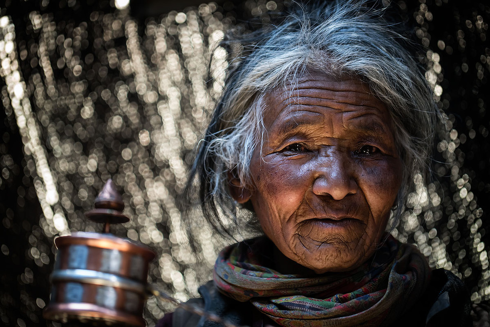 A piece of fine art art photography titled Ancient Nomad by Juanra Noriega