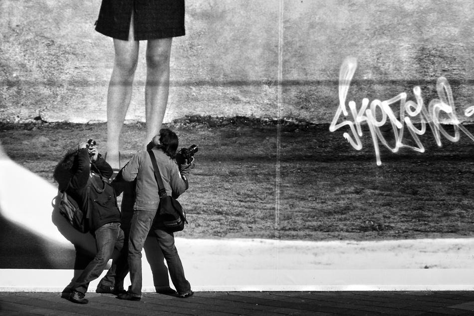 A piece of fine art art photography titled Kinky Photographer by Ricky Siegers