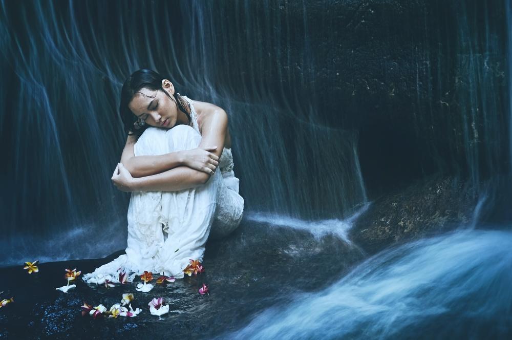 A piece of fine art art photography titled Solitude by imba jaya
