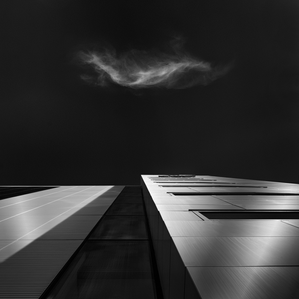 A piece of fine art art photography titled A Cloud by Barry Walsh