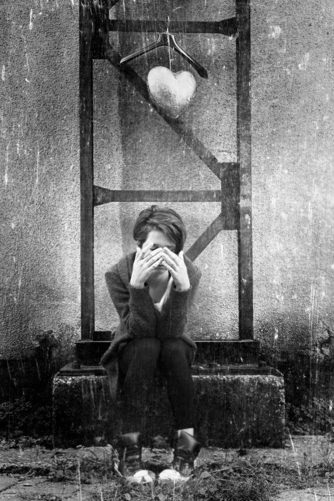A piece of fine art art photography titled 1st Love by Bez Dan