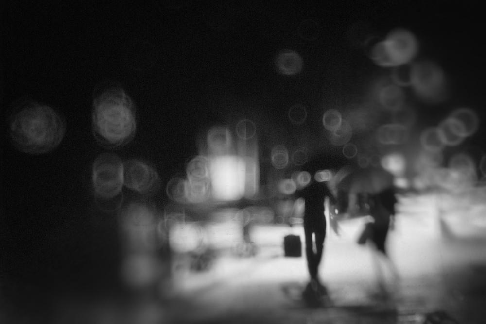 A piece of fine art art photography titled Night by Teruhiko Tsuchida