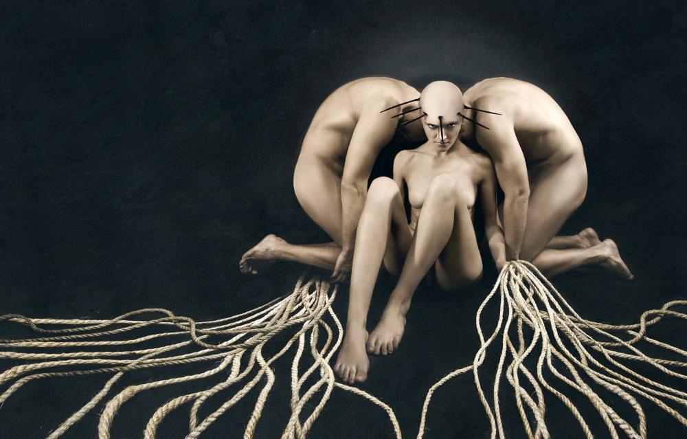A piece of fine art art photography titled Hecate by Angelina Goncharova