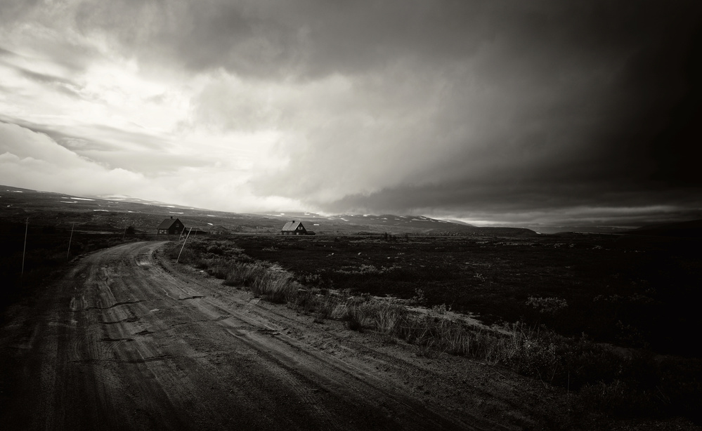 A piece of fine art art photography titled Dark Clouds by Julien Oncete