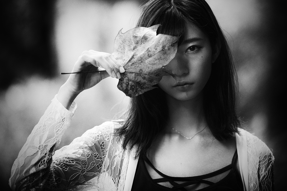 A piece of fine art art photography titled Mamiko by DAIKI MATSUKANE
