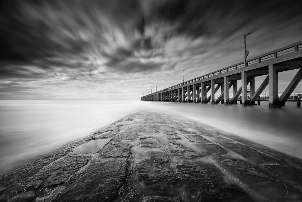 A piece of fine art art photography titled Drifting by Christophe Staelens