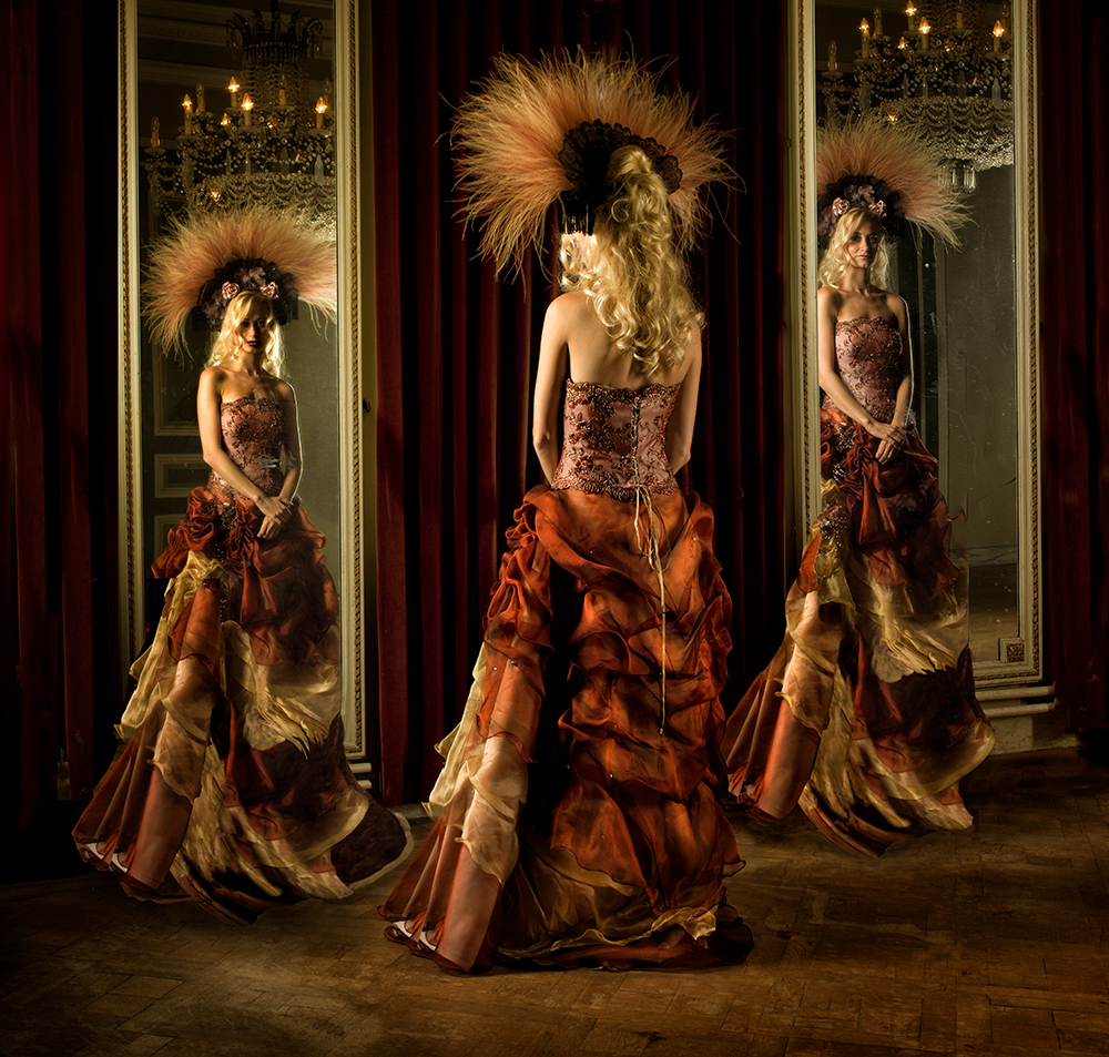 A piece of fine art art photography titled Reflections by Peter Kemp