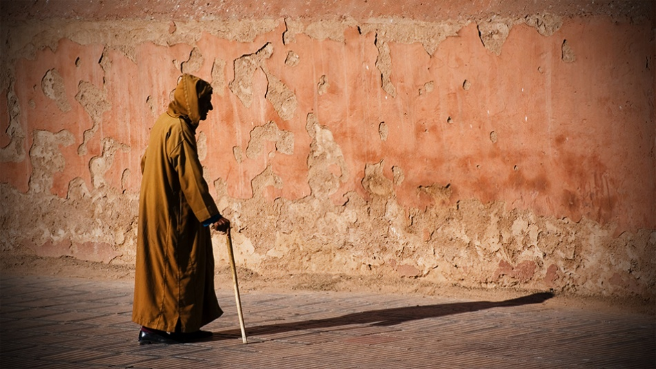 A piece of fine art art photography titled Old Shadow by StefanK