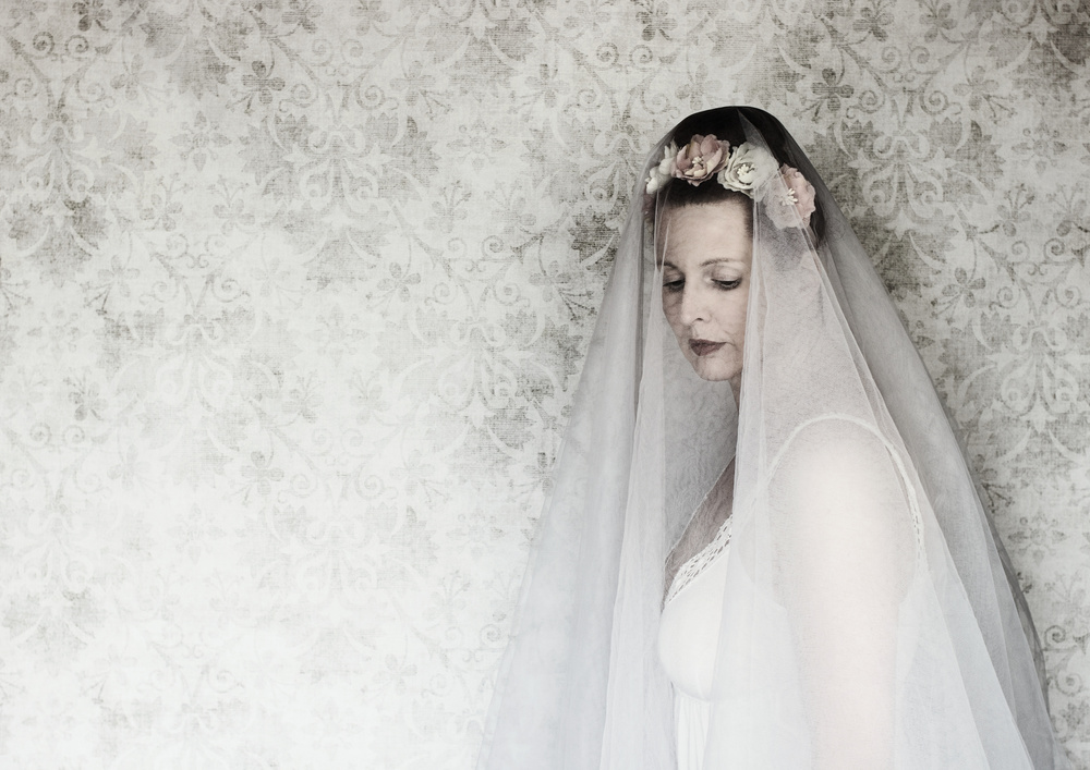A piece of fine art art photography titled The Bride by Manu D