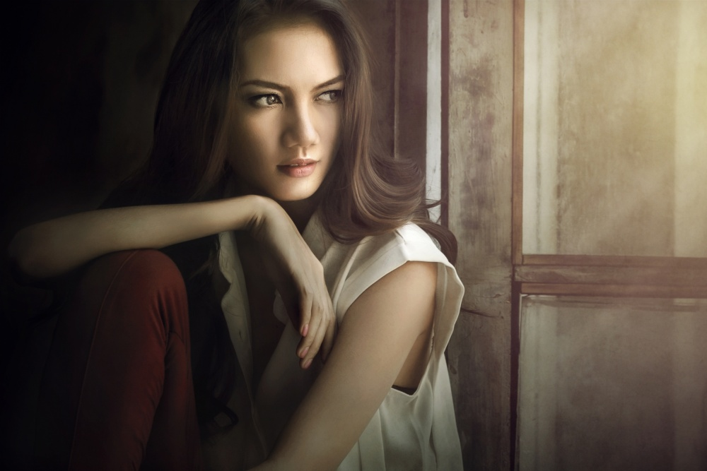 A piece of fine art art photography titled Waiting by Ivan Lee
