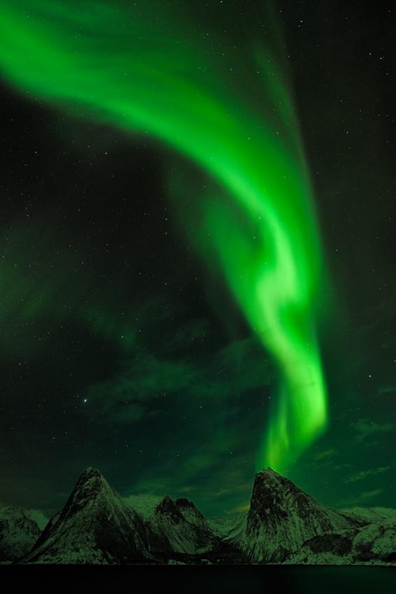 A piece of fine art art photography titled Volcano by OdDoF