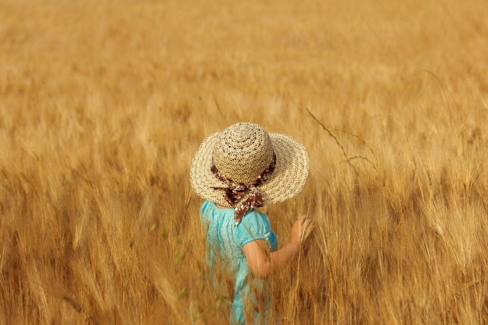 A piece of fine art art photography titled Summertime by Olga Fomina