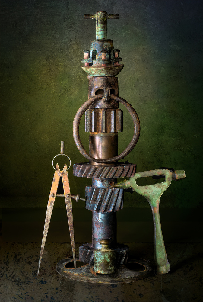 View this piece of fine art photography titled Mechanical Totum by Jon  Kinney