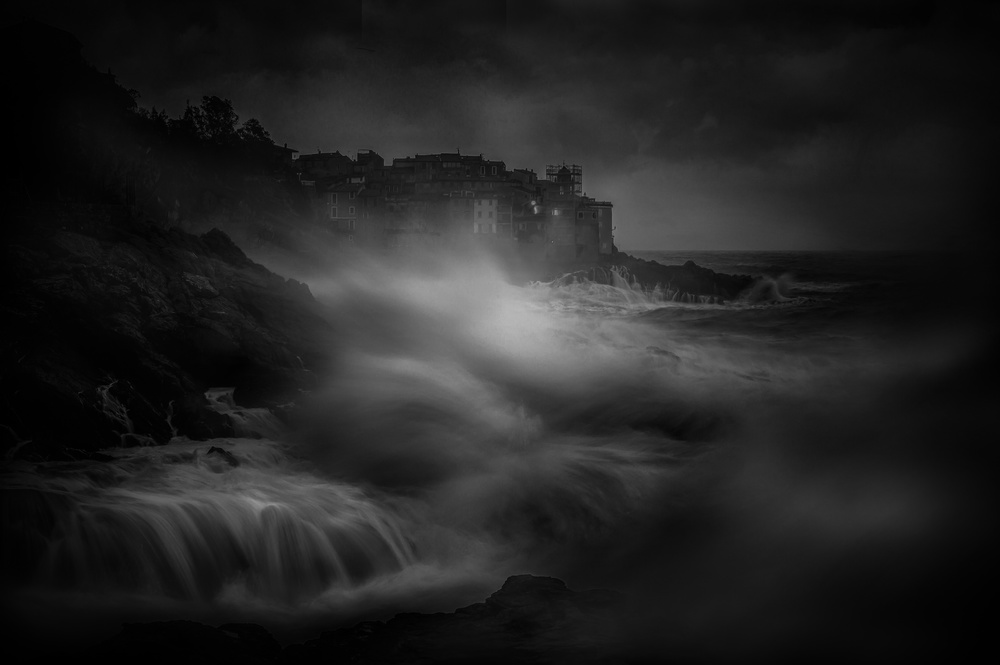 A piece of fine art art photography titled Tellaro Picture by Alessandro Traverso