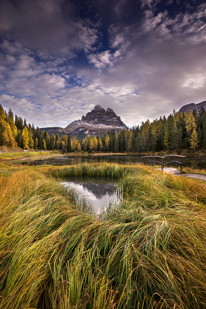 A piece of fine art art photography titled Lago D'antorno by keller
