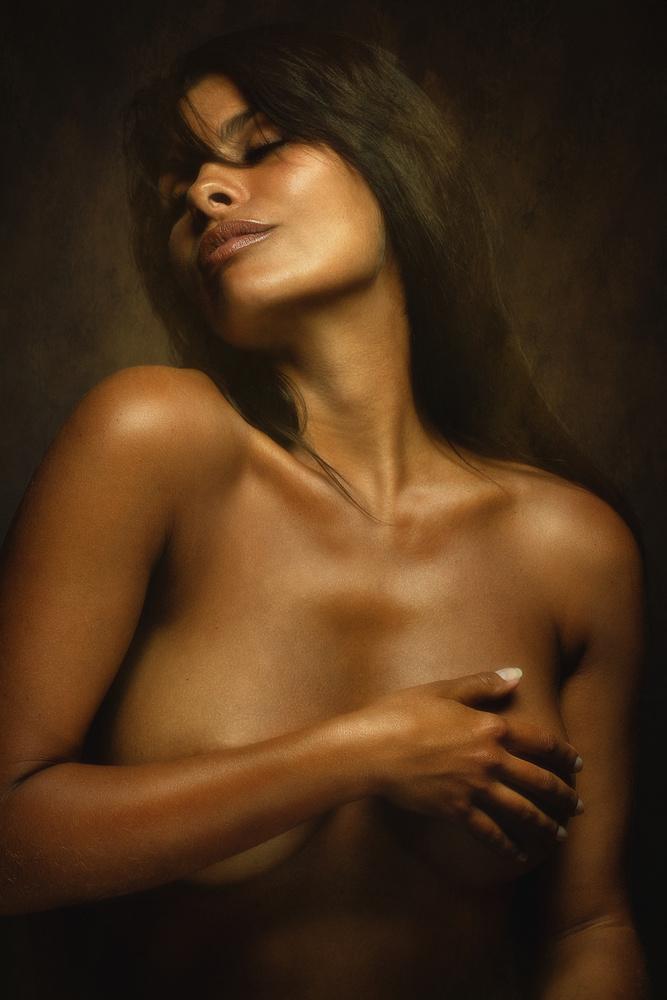 A piece of fine art art photography titled Yanika by Zachar Rise