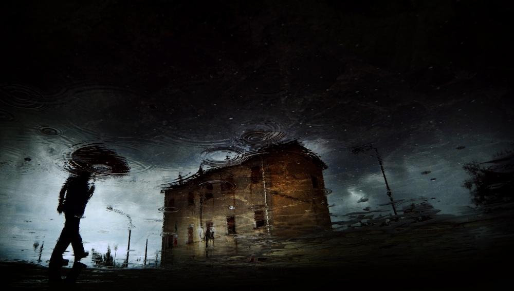 A piece of fine art art photography titled The Coming Storm by Antonio Grambone