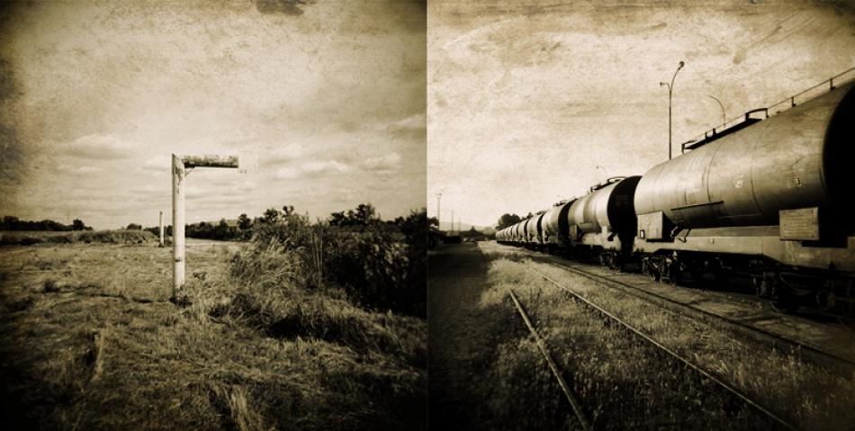 A piece of fine art art photography titled I  Love My Holga by Sandra Štimac